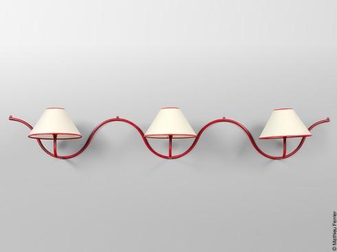 Jean Royere Wall Lamp