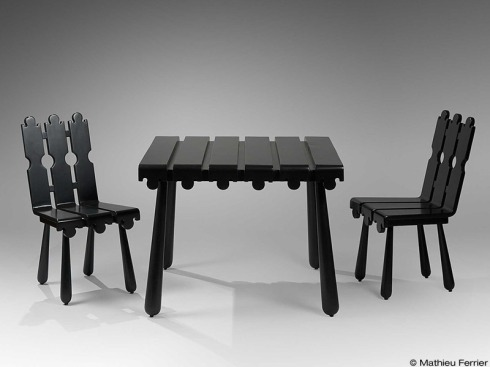 Quille Set, Jean Royere