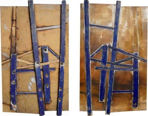 Blue Chair Zelehoski