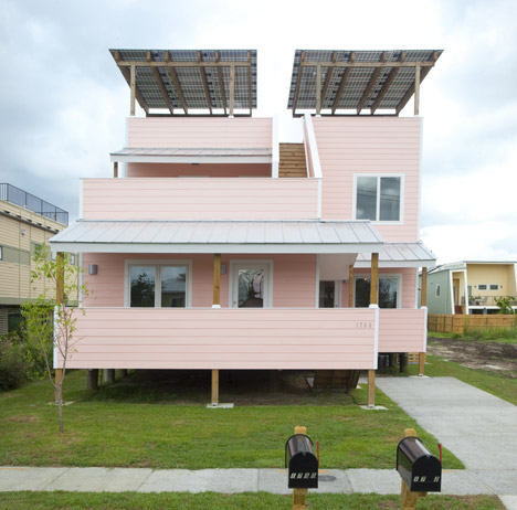 Frank Gehry Home New Orleans